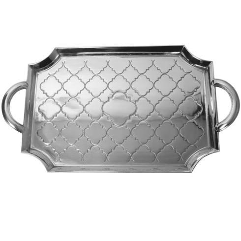 "$140.00 Large Casablanca Serving Tray, 23 1/4"" x 13"""