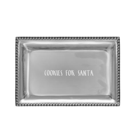 $56.00 Infinity Vanity Tray with Cookies For Santa