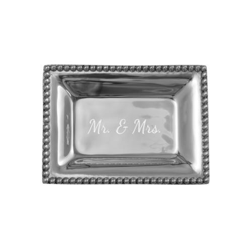 $40.00 Infinity Extra Small Tray with Mr. & Mrs