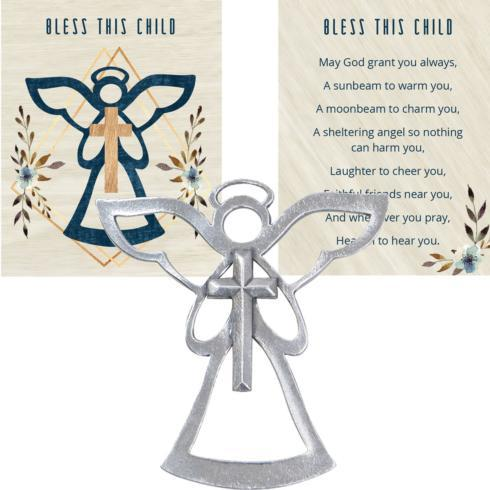 $14.50 ANGEL BLESSING ORNAMENT – BLESS THIS CHILD