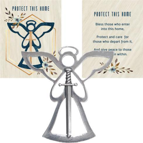 $14.50 ANGEL BLESSING ORNAMENT – PROTECT THIS HOME