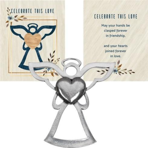 $14.50 ANGEL BLESSING ORNAMENT – CELEBRATE THIS LOVE