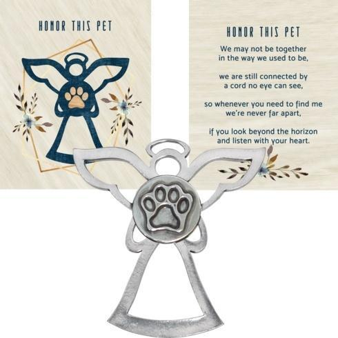 $14.50 ANGEL BLESSING ORNAMENT – HONOR THIS PET