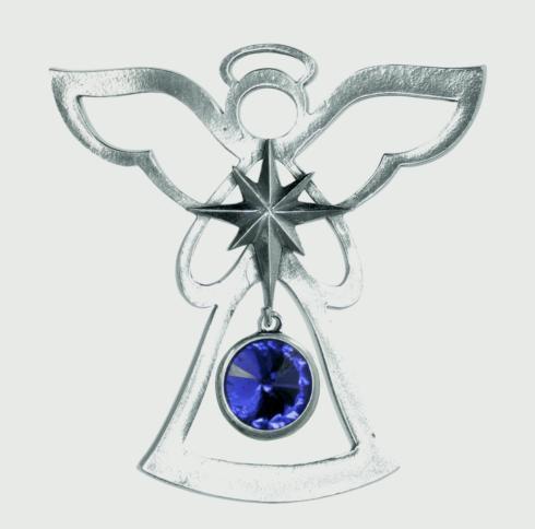 Birthstone Angel Ornament - September