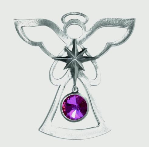 Birthstone Angel Ornament - October