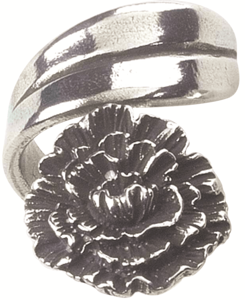 $19.50 Ring, January/Carnation