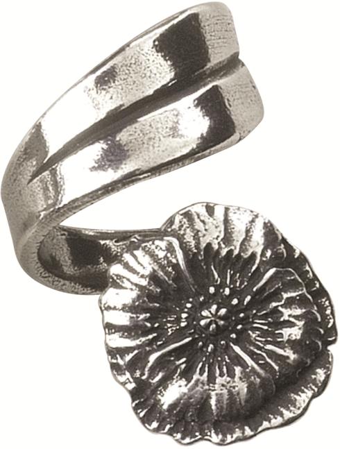 $19.50 Ring, August/Poppy