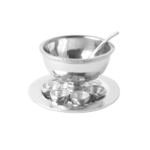 $36.00 Miniature Punch Bowl 7 Piece Set