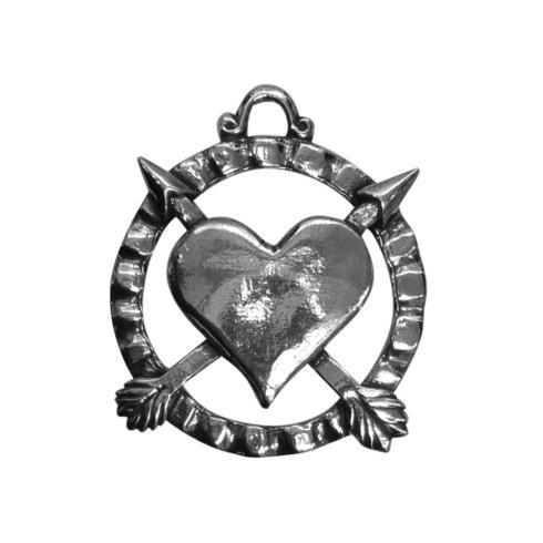 Salisbury  Gift Engravable Heart Ornament $14.00