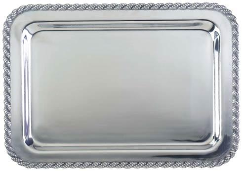 "$82.00 Masthead Medium Rectangular Tray, 15"" x 10"""
