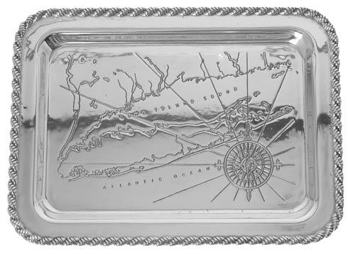 "$120.00 Latitudes Large Long Island Tray, 20"" x 15"""