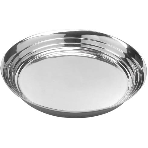 Classic Oxford Round Tray, 16