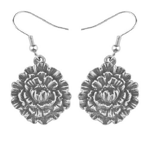 $17.00 Earring, January/Carnation