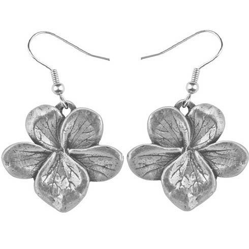 $17.00 Earring, February/Violet