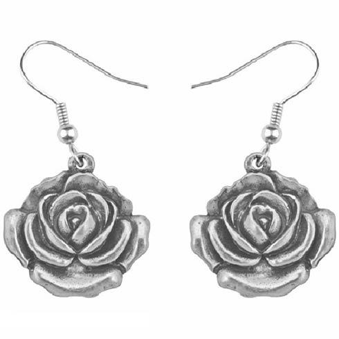 $17.00 Earring, June/Rose