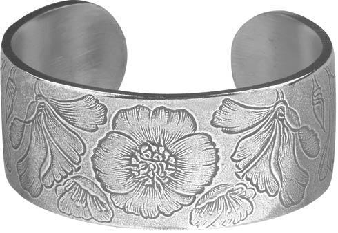 $23.00 Bracelet, August/Poppy