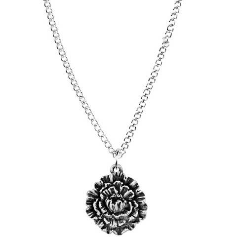 $17.00 Pendant, January/Carnation