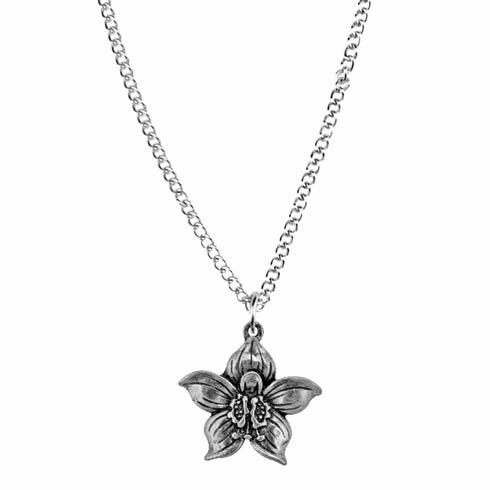 $17.00 Pendant, July/Larkspur