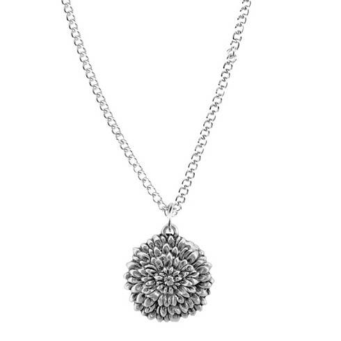 $17.00 Pendant, November/Chrysanthemum