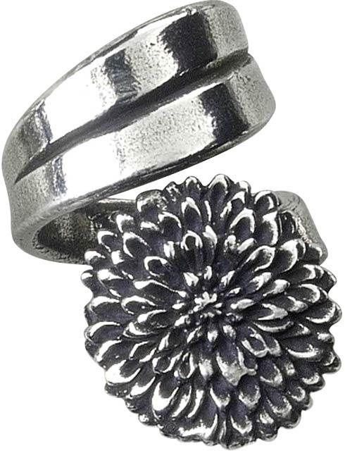 $19.50 Ring, November/Chrysanthemum