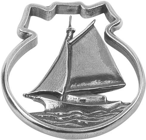 Traditional Sailboat Ornament