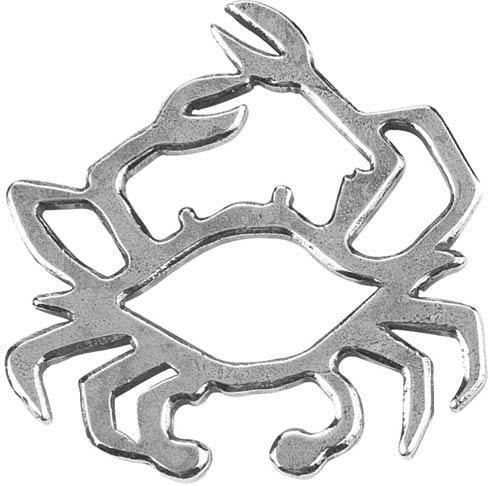 Contemporary Crab Ornament