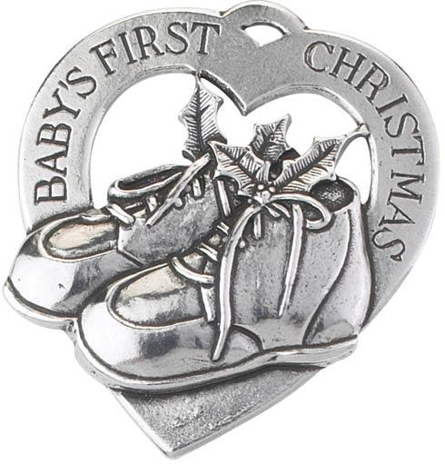 $16.50 Baby's First Christmas Engravable Ornament