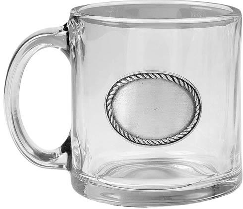 $58.00 Rope Edge Coffee Mug, set of 4