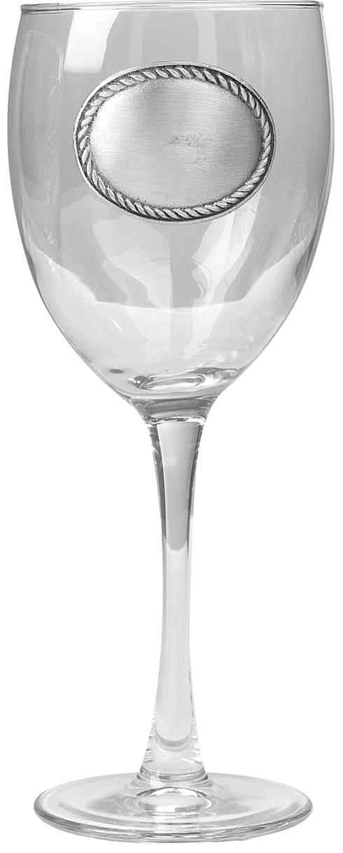 $31.00 Rope Edge Wine Glass, set of 2