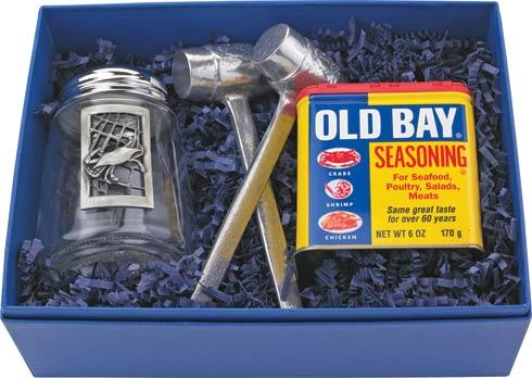 $64.00 Four Piece Old Bay Gift Set