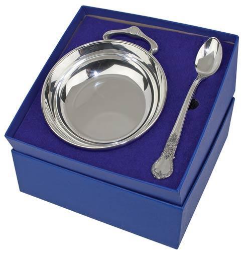 $98.00 Porringer & Baby Feeding Spoon Gift Set