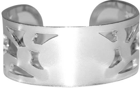 $23.00 Pierced Pewter Bracelet