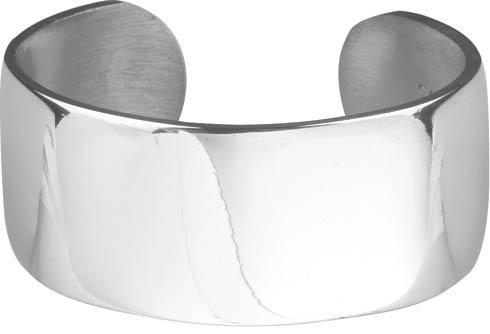 """$31.00 1"""" Plain Pewter Bracelet"""