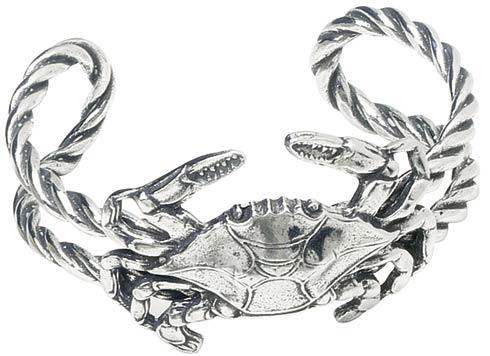 Masthead Rope Crab Bracelet