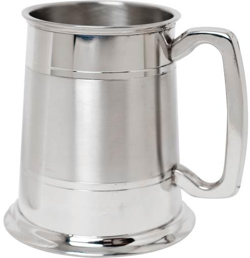 $58.00 Tankard with Lines Part Satin