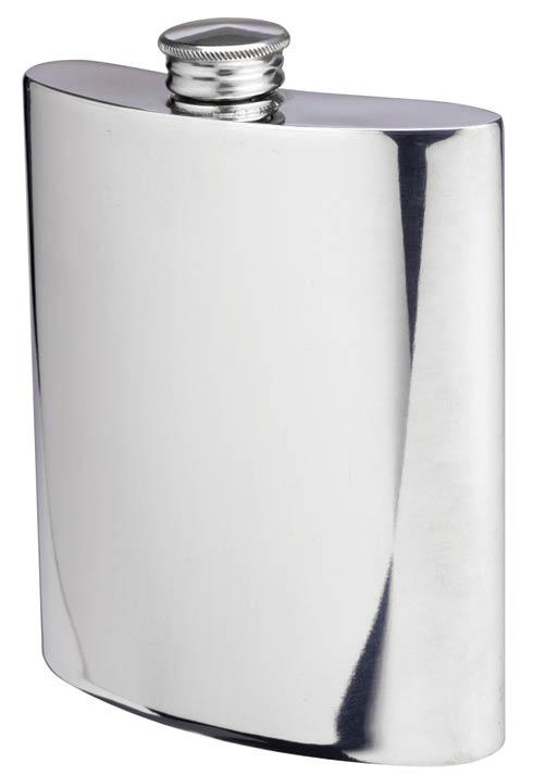 Hip Flask, 6 oz. image