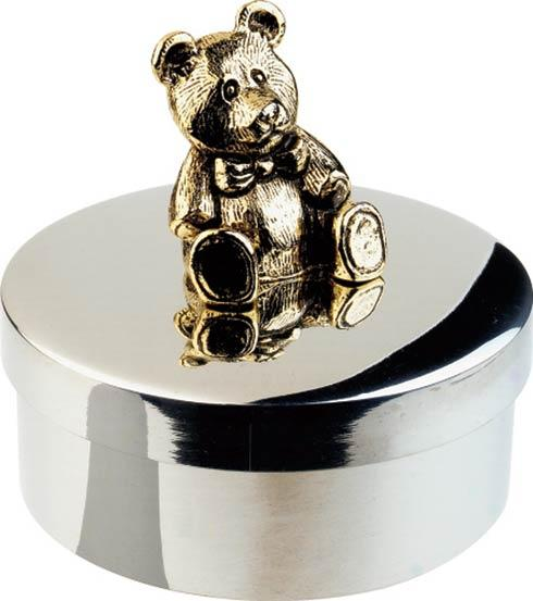 $49.00 Teddy Keepsake Box, 1""