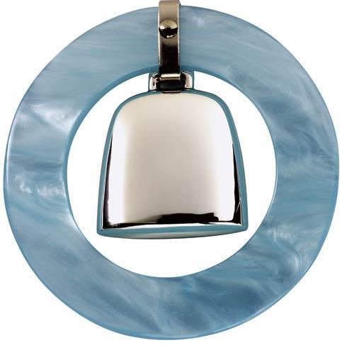 $71.00 Blue Teething Ring Rattle