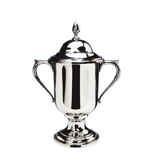 "$420.00 Small Loving Cup with Lid, 8 ½"" tall"