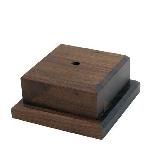 "$42.00 Small Wooden Base, 4"" tall"
