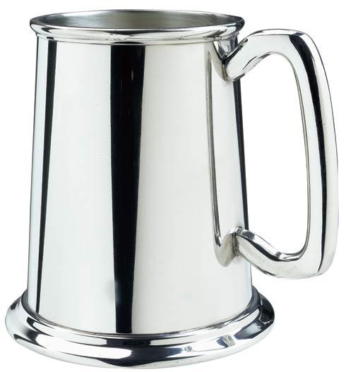 Salisbury  Wedding Glass Bottom Tankard $60.00