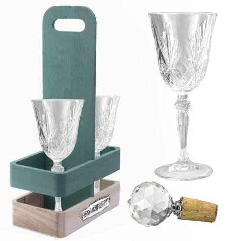 $70.00 WINE LOVERS GIFT SET FOR TWO