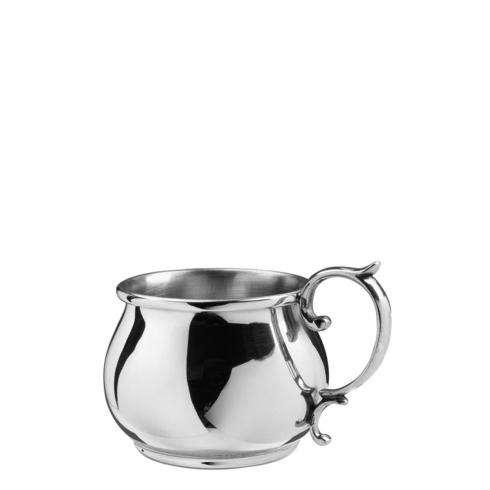 $48.00 Bulged Scroll Handle Baby Cup, 5 oz.