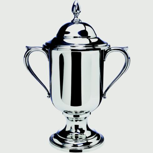 "$530.00 Large Loving Cup with Lid, 12 3/4"" tall"