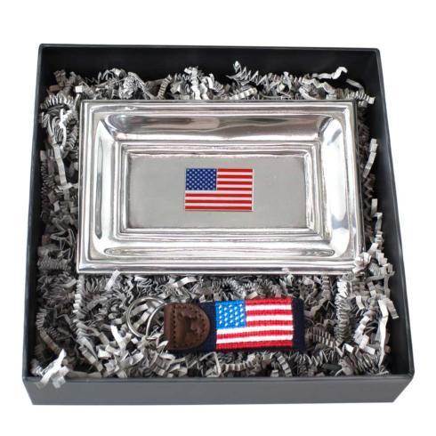 $75.00 Classic Tray & Flag Key Fob