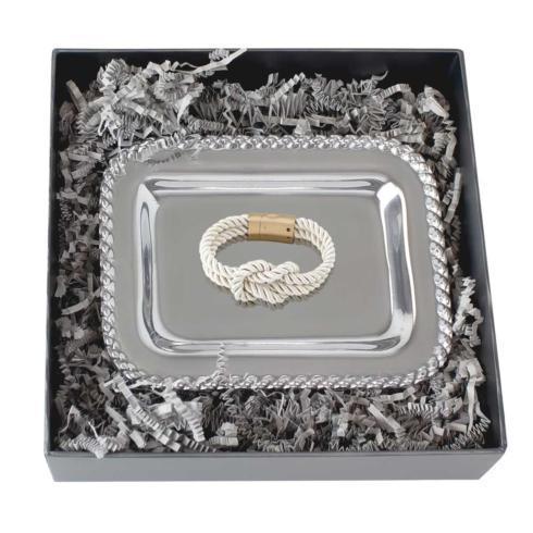 $60.00 Masthead Tray & Knot Bracelet