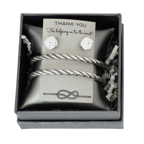 $40.00 Rope Bracelet & Knot Studs