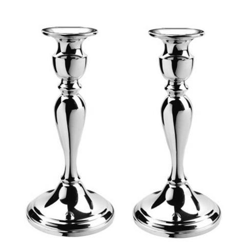 "$192.00 8 ¼"" Colonial Candlesticks, Pair"