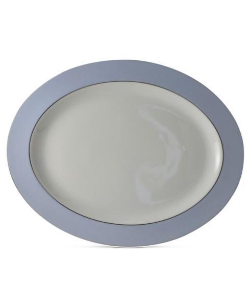"""$285.00 Dune Blue 15"""" Oval Platter"""