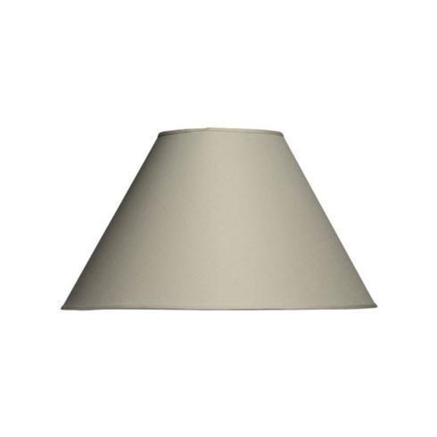 "$70.00 Linen Empire Shade 18"", color Sugar"